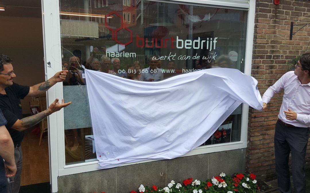 Locatie Noord van Buurtbedrijf Haarlem officieel open